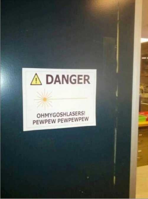 Danger. .