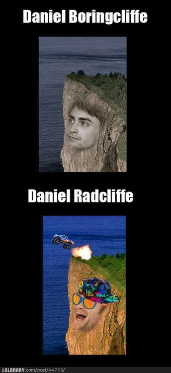 Daniel Radcliffe. .