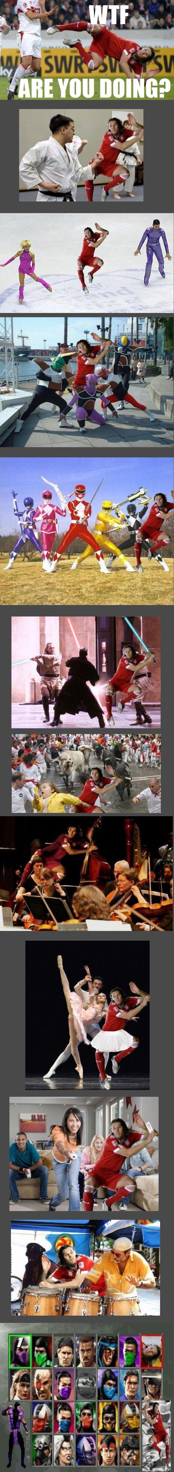 Daniel Van Buyten. Uploaded before, but it's just so funny!. daniel Van Buyten Photoshop epic fail hilarious