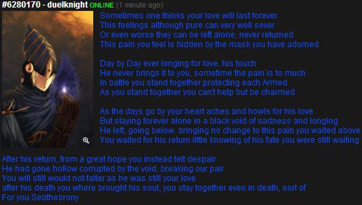 Dark souls feels. This is a title something a wrote I hope you guys enjoy it. 523131 TO - tigerknight 3' -._|' -E dark souls souls dark poem sebthebrony ciaran arthorias