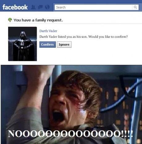 Darth Vader. . I/ i 'Wu have an famiy; alzi' zlio. Incest is Wincest...