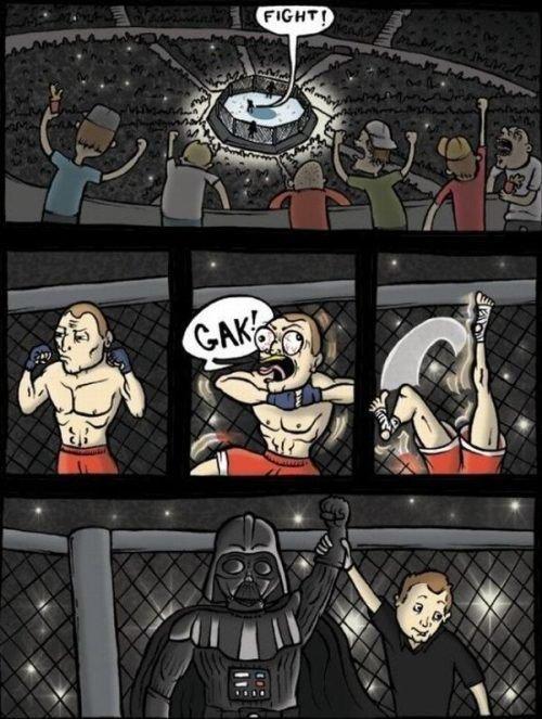 Darth Vader. .. this sucks
