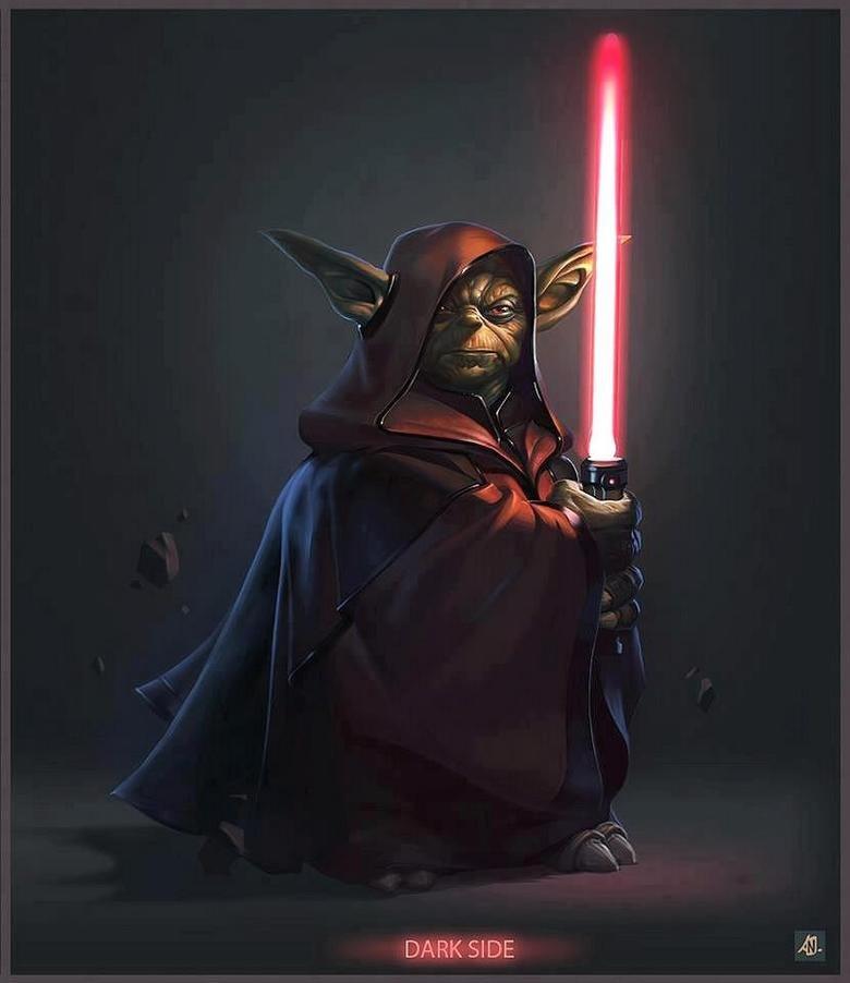 Darth Yoda. not mine. DARK SIDE. to the dark side, cookies we have