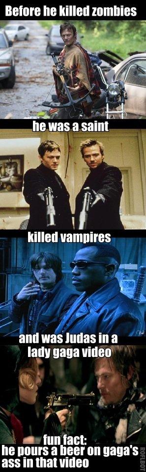 "Daryl before walking dead. . BENIN Iitt k"" tilted "" ttm In q Trr. killed pulpit-' - 3 teii) 9393 tatt Attemt 3 ""BET Mt 355 in that lithest"