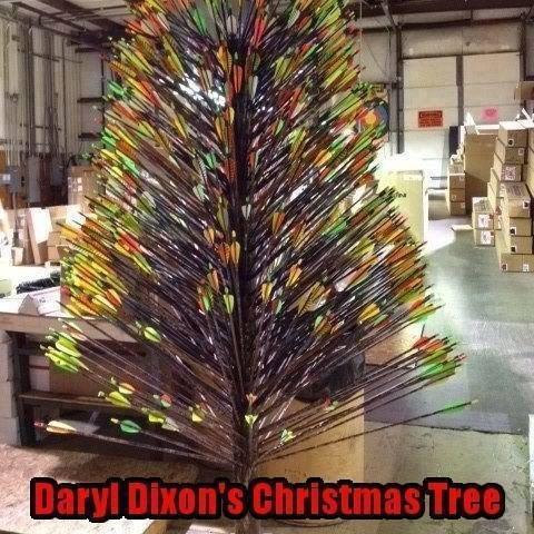 Daryl Dixon's Christmas Tree. .