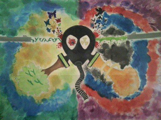 Dat art. .. meet the pyro anyone? tf2. dem colors
