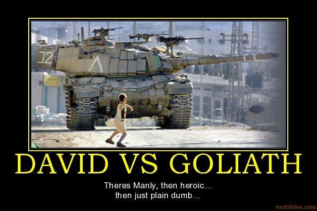 David Versus Goliath Quotes. QuotesGram