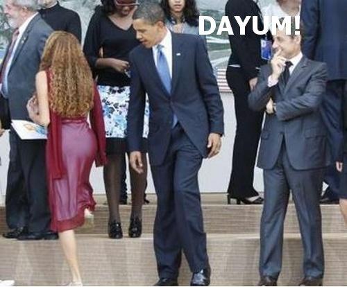 DAYUM! 2. Obama Style<br /> <br /> . obama Damn bagel dat ASS lol nice