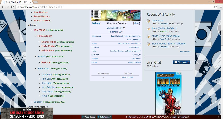 DC comics page, marvel ads interesting. . I Jean I Ruben INN Iai. Recent Wild Activity I I Sharon -T - Ci-,.'? Nolanverse i) Vill _ Gallery Alternate Carvers: [ comics DC Marvel