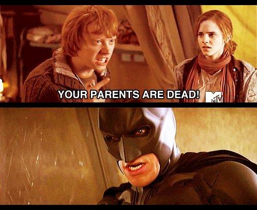 "Dead Parents. Lol. Edup . pr VDEH""% HENTZ ARE DEN?! i,"