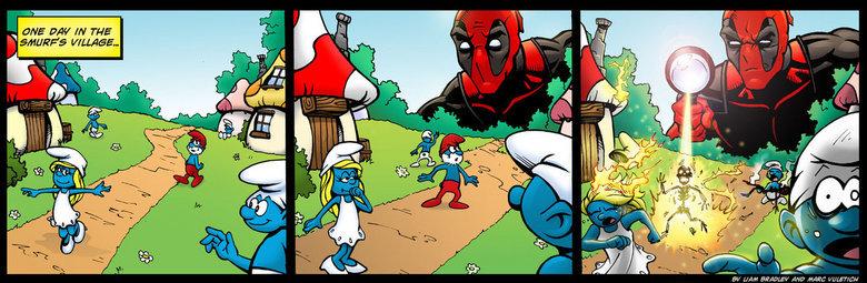 "Deadpool. . EH"" L' lehi. A fine day......a fine day indeed. Deadpool dead Pool"