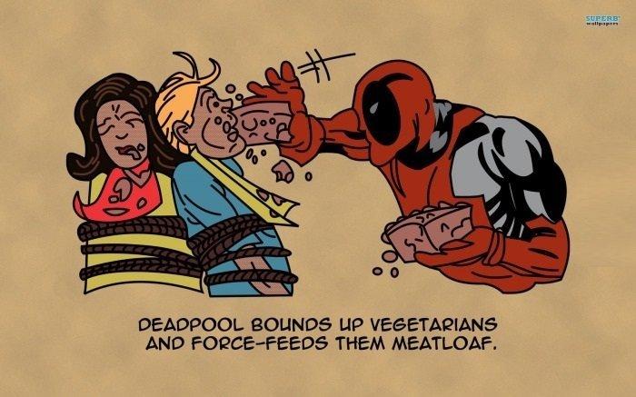 deadpool. . BELINDA LIP ? ANO THEM .. the original if anyone wants it stares at batmanisarabbit