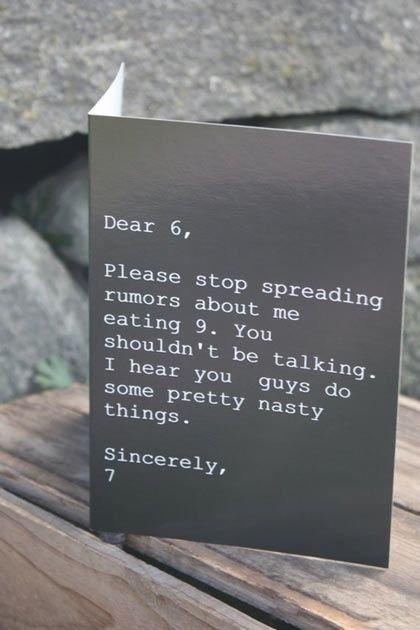 Dear 6. .