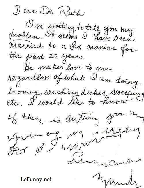 Dear dr. Ruth. Soruce .