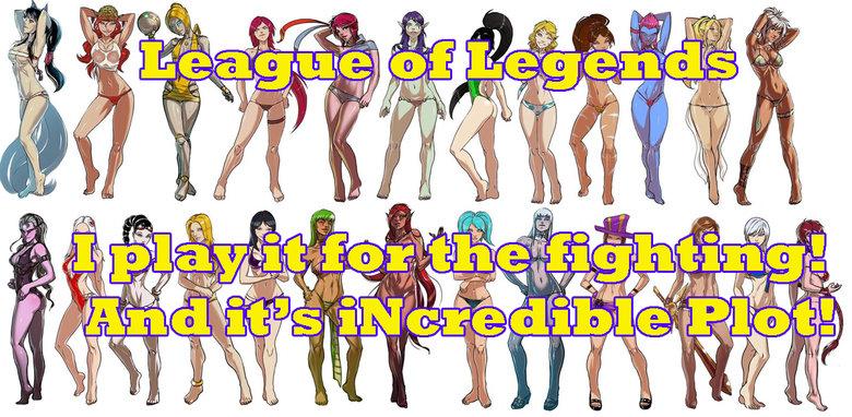 DEMACIAAAAAAAA!. Artist - Ganassa.. where is annie? League of Legend swimsuit Ganassa