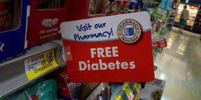 diabetes. wow!! this pharmacy is so generous!!! enjoi.. Diabeetus diabetes free pharmacy late night avoid homework
