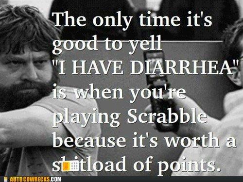 Diarrhea. . only tane it' s