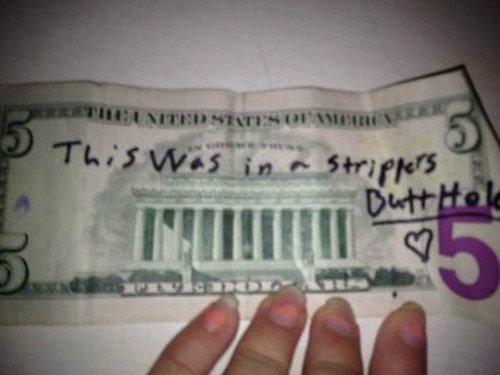 Dirty Money. . MII i' Itll' I ll I HI s, gliter mm ii' filki, ii' rir.. 50 bucks.