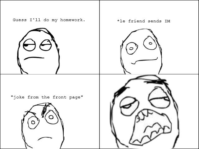 Distraction homework
