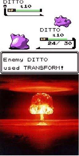 Ditto vs. Ditto. .