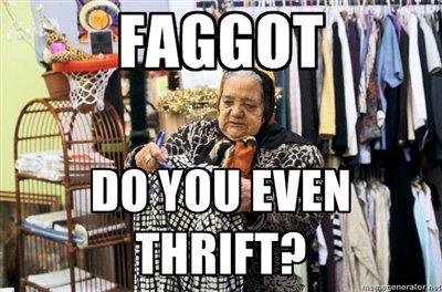 Do you even thrift?. OC.. http://www . youtube . com / watch?v=QK8mJJJvaes tags are for noobs