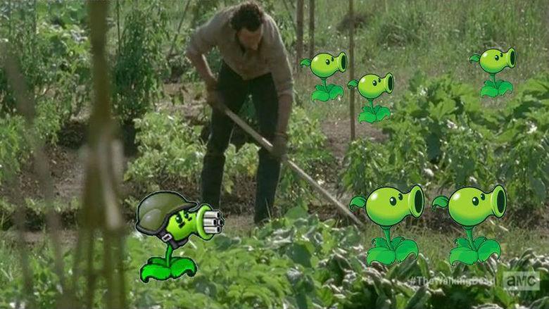 Do you even?. . Walking dead plants vs zombie