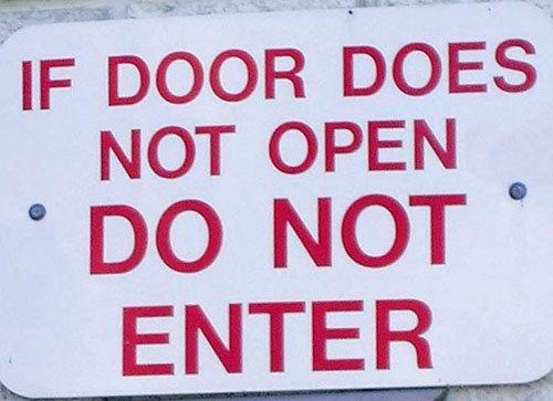 DO NOT ENTER. Visit my profile for more funny junk!. do Not Enter fail Rules nikola tesla