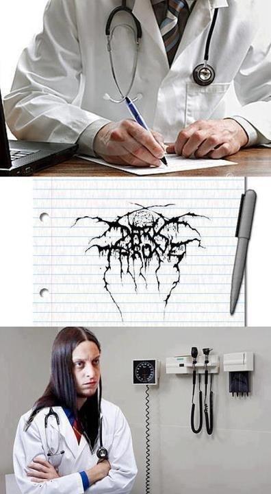 Doctor Fenriz. . darkthrone