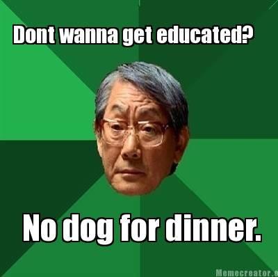 Dog Food. Like a Sir.