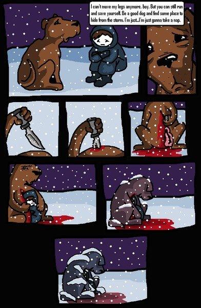 Dog is kill. inb4 Feels, feels everywhere inb4 OP cant inb4.