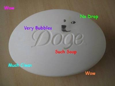 Doge Soap. . Wow