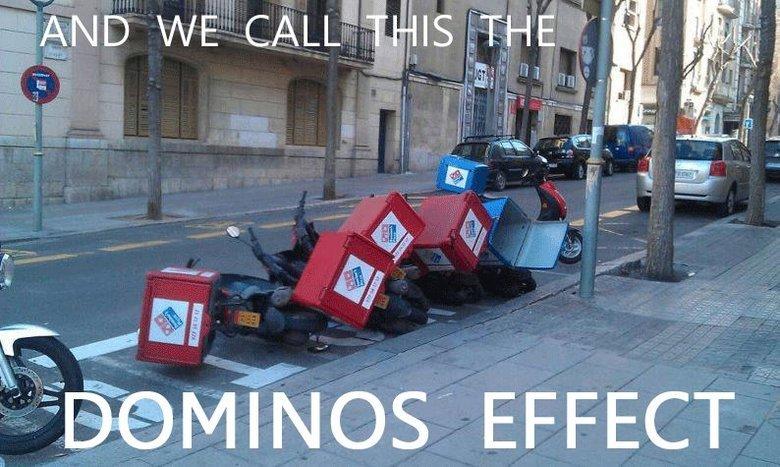 Domino's Effect. Domino's effect. tikals,