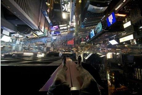 Don't lean forward. .. damn me im afraid of heights