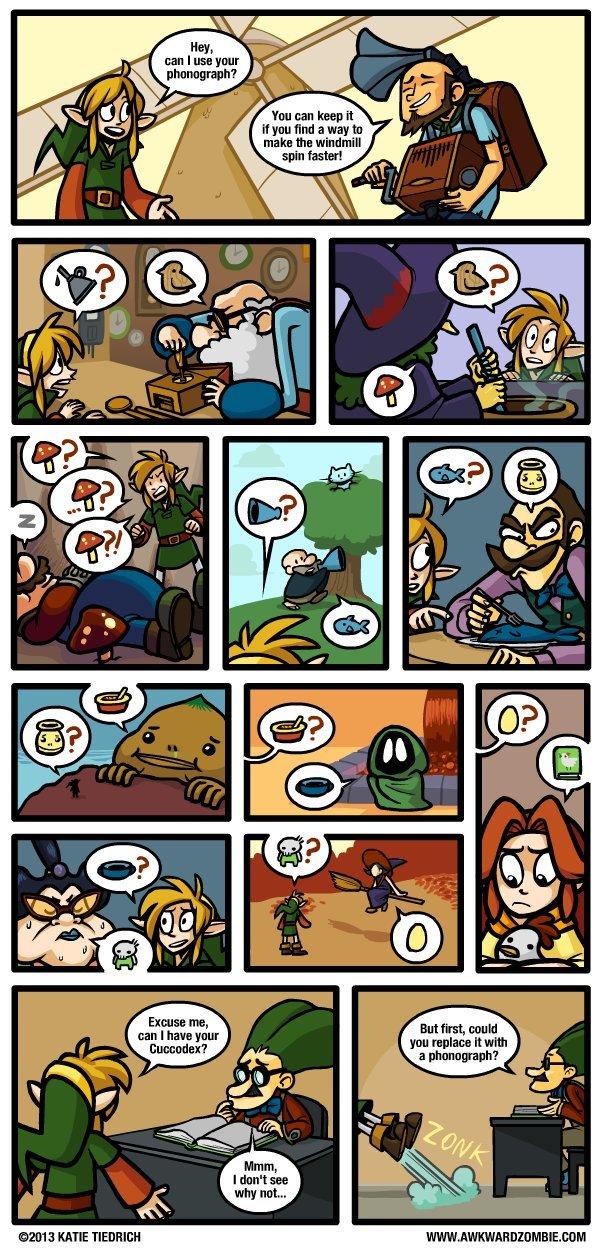 "Dorkly. . ikill lli' iif"" fan can keep it . p' malts 1', I e an legend of Zelda"