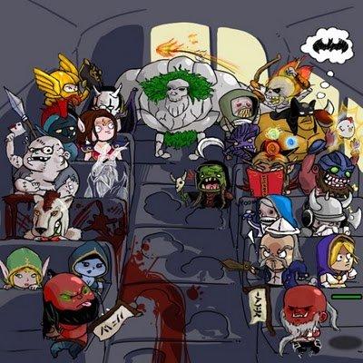 Dota bus ride. I.. but..but.. this is a dota 1 post.. dota