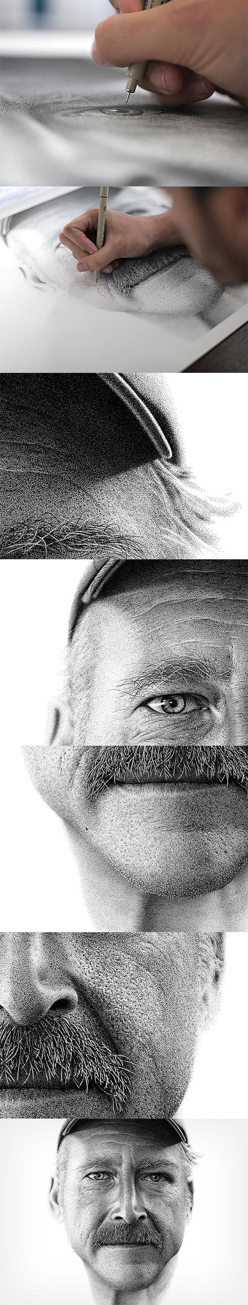 Dots. . dots Art Face