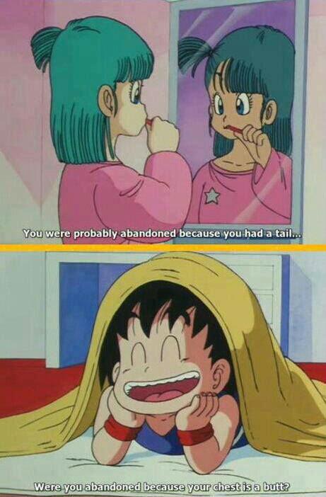 Dragon Ball. .. Young oblivious Goku is best Goku