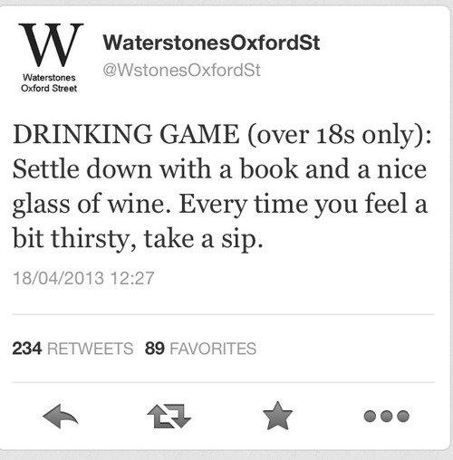 Drinking Game. .
