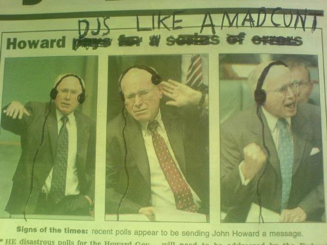 Drop It, Howard. .