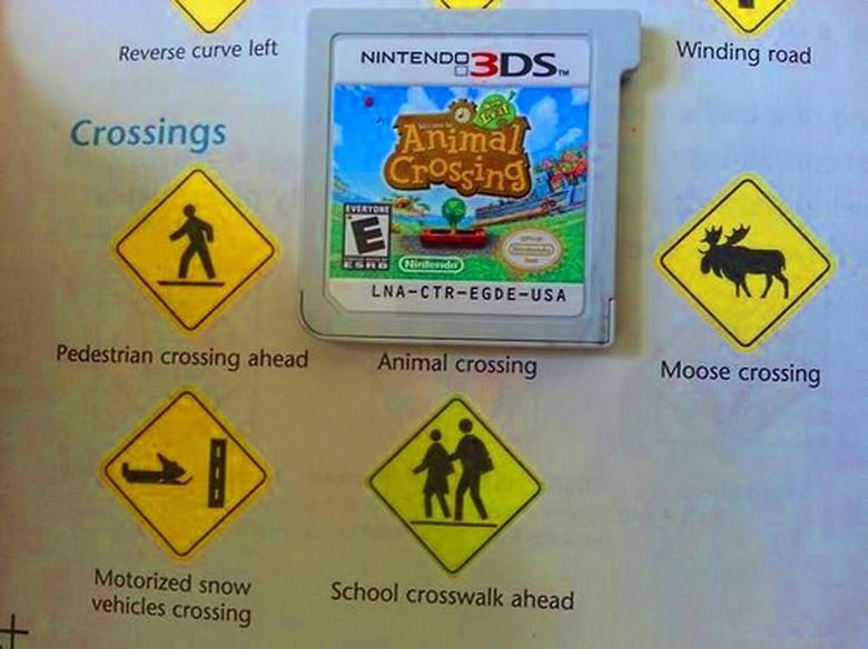 ds. deer. Nintendo sign Yellow