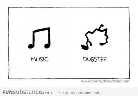 Dubstep vs normal music. . MUSIC DUBSTEP Fur your entertainment.