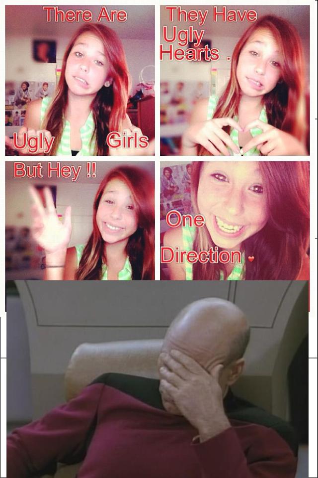 Dumb tween girls. wish I could slap through facebook posts..