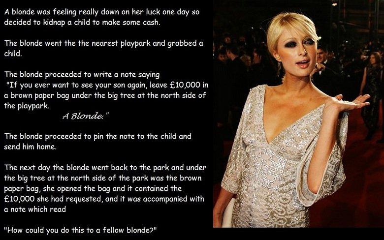 Stupid Blonde Joke 87