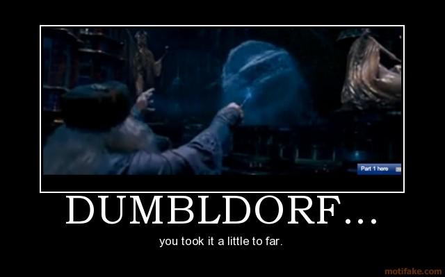 Dumbldorf.. funny anus.. wut