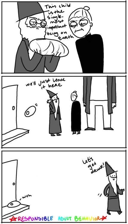 Dumbledore Fail. Dumbledore fail. Barely exaggerated..