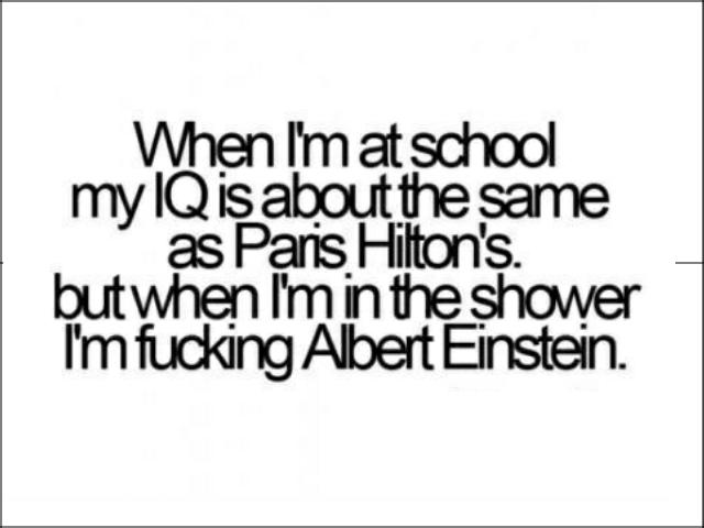 E= Mc. squared.
