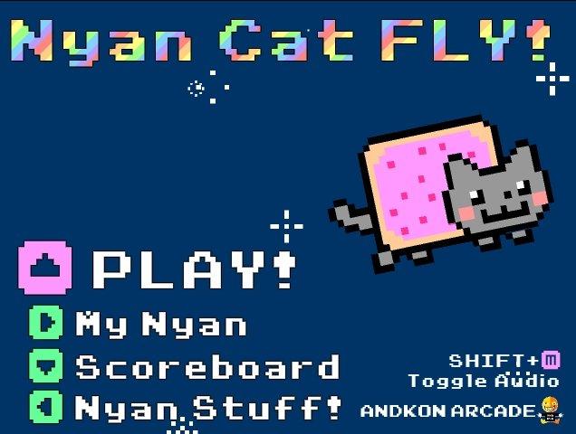 EPIC GAME (link in desc). www.andkon.com/arcade/shooter/nyancatfly/. D Flu Hanan ct rt/ Btu F F t numan amc: rtr: ,. I cried semen.