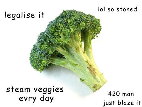 eat veggies erryday. .