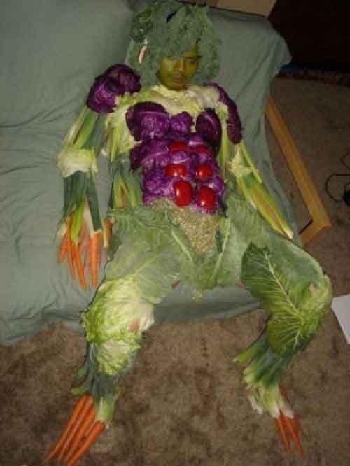 Eat your veggies. .. hahaha wtf?