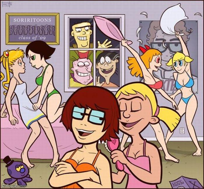 герои мультфильмов порно комиксы № 226377 без смс